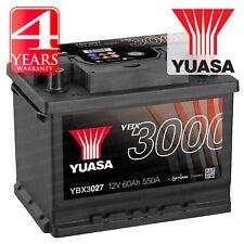 Yuasa Car Battery Calcium Black Case 12V 550CCA 60Ah T1 For VW Passat 2.0 FSi
