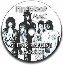 FLEETWOOD MAC STYLE ROCK GUITAR BACKING TRACKS COLLECTION CD JAM TRACKS