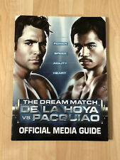 Manny Pacquiao Media Kit and Fight Program bundle