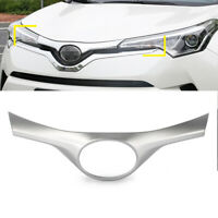 Silver Front Grille Grill Insert Cover Trim for Toyota C-HR CHR 2018 New Car