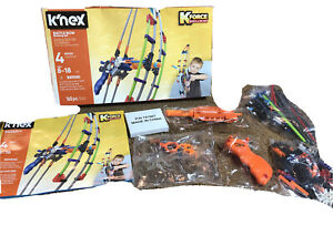 K'NEX K-FORCE Battle Bow Build and Blast Set 165 Pieces New Complete Sealed Bags