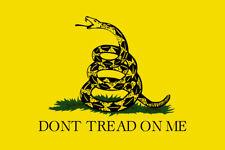 Dont Tread On Me Yellow flag VINYL window DECAL STICKER Gadsden Die Cut USA