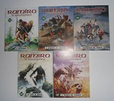 Editoriale Cosmo RAMIRO LA RECONQUISTA 5 Volumi Completa VANCE STOQUART 1 2 3 4