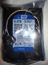 """*NEW* Western Digital Internal Hard Drive Blue WD60EZRZ 6TB 3.5"""" 5400 RPM 64MB"""