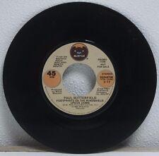 """Paul Butterfield-Footprints on the Windshield Upside Down-PROMO 7"""" Vinyl LP-RP84"""