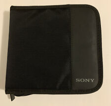 Sony 12 CD Portable Carrying Case  Music CD Video Game Disk