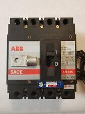 ABB SACE LN125 125 AMP 1000 V CIRCUIT BREAKER C.C./D.C.