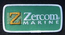 "ZERCOM EMBROIDERED SEW ON PATCH MARINE ELECTRONICS BOAT FISH SPORTS 4"" X 2"""