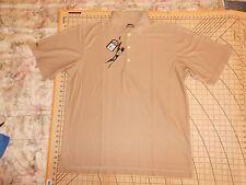 Mens Xlarge Beige Highest Quality Slazenger Vented Polo Shirt - Nwt