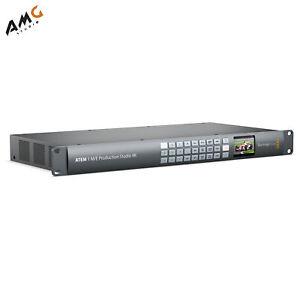 Blackmagic Design ATEM 1 M/E Production Studio 4K NTSC/PAL/HD SWATEMPSW1ME4K