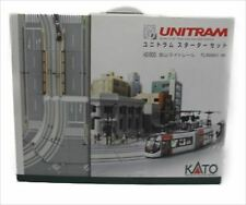Used 40-900 Kato Unitram Starter Set Toyama Light Rail N Scale TLR0600 Type F/S