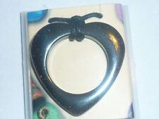 cristalloterapia PENDENTE CIONDOLO amuleto CUORE EMATITE COLLANA talismano terra