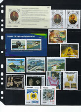 PANAMA 2018 NEW LOT OF STAMPS MNH FACE VALUE $21.20
