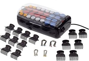BaByliss BAB3031E Set 30 Professional Rollers/Curlers Hot Ceramic With Case