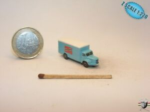 Volvo 845 Truck 1956 Z scale 1/220 Hand-painted Metal Model