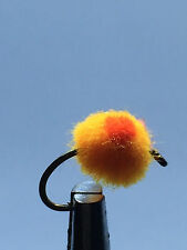 12 ROE BUG STHD ORANGE FLAME Fly Fishing Flies size 12