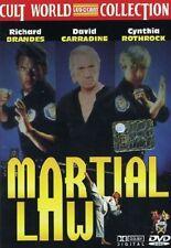 MARTIAL LAW - CODICE MARZIALE 1  DVD ARTI MARZIALI
