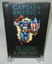 Captain America To Serve & Protect Marvel Comics HC Hard Cover New Sealed