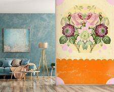 3D Psychedelic Flowers I116 Wallpaper Mural Sefl-adhesive Removable Showdeer An