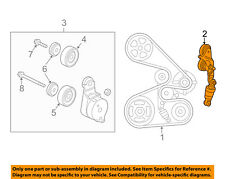 HONDA OEM 05-10 Odyssey-Serpentine Fan Belt Tensioner 31170R70A01