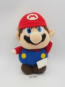 "Super Mario All Star B2708 Banpresto 1991 Plush 6"" Stuffed Toy Doll Japan"