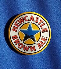 Newcastle Brown - Large Button Badge - 58mm diameter
