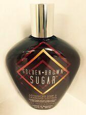 Golden Brown Sugar Advanced Double Dark Tanning  Lotion Brown Sugar Tan Inc