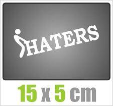 Autocollant bordeI Haters voiture JDM tuning OEM autocollant stickerbomb 15x5cm