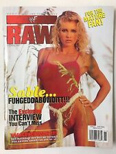 WWF/WWE RAW Wrestling Magazine November 1998 Sable COVER