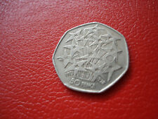 1998 European Union 25th Anniversary 50p coin
