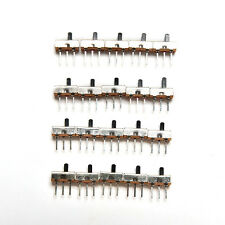 20pcs SS12D00G4 SPDT 1P2T 2 Position 3 Pin PCB Panel Vertical Slide Switch ec