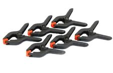 """6 X 2"""" MICRO SPRING CLAMP SET CLAMPING CRAFT STRONG NYLON BODY HOBBY MODELS"""