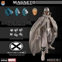 Mezco Toys Marvel PX Magneto 1/12th Collectible Figure 6in. New Hot Toy In Stock
