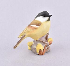 Royal Worcester Bird Figurine - Marsh Tit RW3336 by Eva Soper