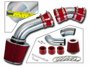 BCP RED 96-99 C1500 K1500 Suburban 5.0/5.7 V8 Cold Air Intake Induction Kit