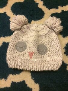 Owl Winter Hat, Age 7-10 Years