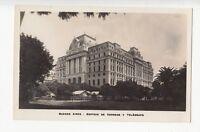 B77152 edificio de correos y teleg  buenos aires argentina scan front/back image