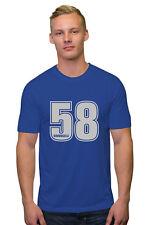 Marco Simoncelli 58 Camiseta Texto Plateado Moto Gp Rider Hombre,Mujer,Niños Fit