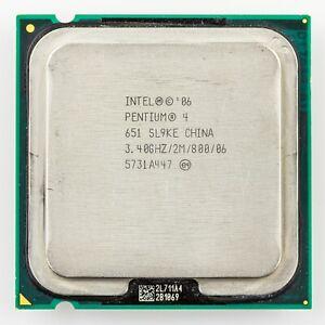 SL9KE Intel Pentium 4 651 3.4GHz Socket LGA 775 CPU Processor