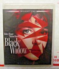 NEW - Black Widow Blu-ray - Twilight Time - Limited Edition - SEALED