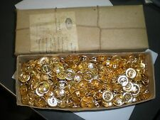 SOVIET ARMY UNIFORM BUTTON LOT OF 750 BUTTONS - 22MM SIZE - IN SEALED BOX!