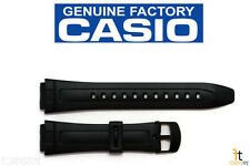 CASIO AW-80 18mm Original Black Rubber Watch BAND Strap AW-82