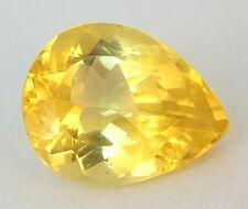 TOP GOLD BERYL : 13,98 Ct Natürlich Gold Beryll ( Heliodor ) aus Brasilien