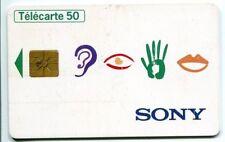 TELECARTE 50 SONY