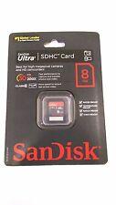 SanDisk Ultira SDHC Card 8GB Class 6 30MB Speed Secure Digital