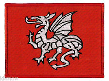 "English Pendragon Embroidered Patch 12 X 9CM (4 3/4"" X 3 1/2"")"