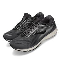 Brooks Ghost 12 2E Wide Black Grey White Men Running Shoes Sneakers 110316 2E