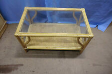 Cane Conservatory Coffee Tables