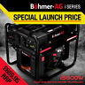 Böhmer-AG Inverter Petrol Generator i5000W 3.0KW 3.8kVA Quiet Electric Portable