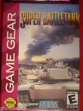 SUPER BATTLETANK SEGA GAME GEAR SUPER BATTLE TANK GAME GEAR NEUF